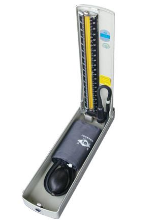水银血压计     技术参数: ● 水银储存装置采用手动开关 ● 测量